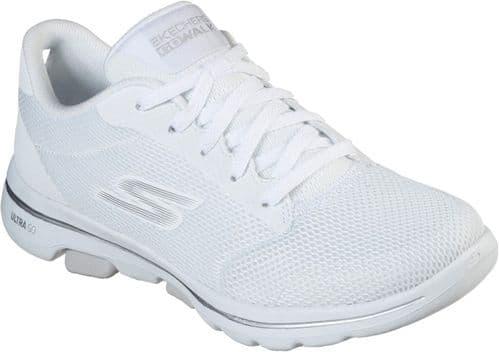 Skechers GOwalk 5 Lucky Ladies Sports White